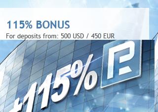 roboforex 115% bonus